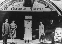 GLENDALE THEATRE, 1910