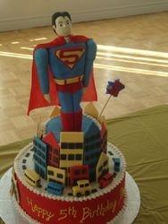 Superman Cake (B067)