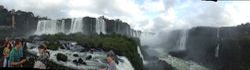 Iguazu Falls Panoramic (Bob Dempsey)