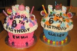 Candy Land Cupcake Cake