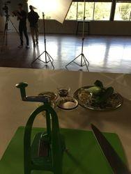 Preparing for Filming