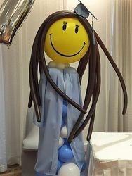 Graduate Balloon Sculpture