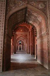 Symmetry of Mughal Architecture