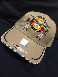 Beaded Native Pride Hat