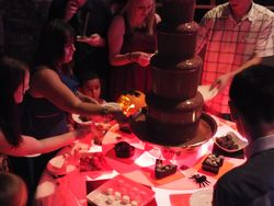 Chocolate fountain hire Greater Manchester,