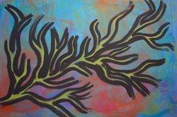 """Branch Heart"" 30 X 40"