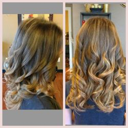 Ombre with a suttle Balayage