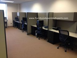 used cubicle assembly service in springfield VA