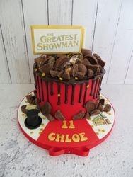 Greatest Showman Drip Cake