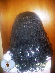 Synthetic Senegalese Twists