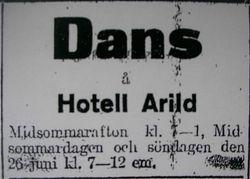 Hotell Arild (Rusthallargarden) 1922