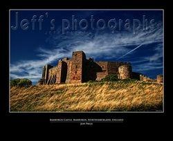 Bamburgh Castle Northumberland, England