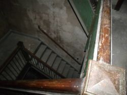 Stairs to Basement - Houghton