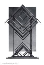 Vulcan Scroll stand