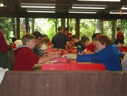Woodworking Merit Badge session