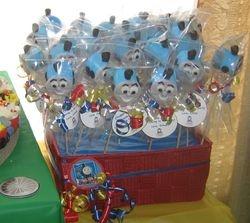 Thomas the Train Marshmallow Pop
