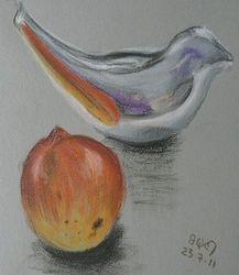 Bird and Mango
