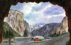 Tunnel View of Inspiration Point