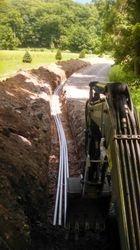 Underground  utility service