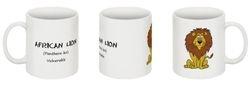 African Lion mug