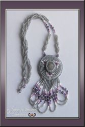 Beaded Riverstone Necklace