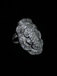 Designer diamond ring 18k