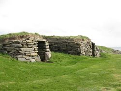 Semi-detached, neolithic style