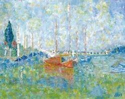 Interpretation of Argenteuil by Monet - France