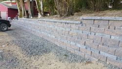 Segmental Retaining Wall in Hillsboro