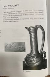 Vase art nouveau Julia VanZype/Julia Frezin 1864-1950