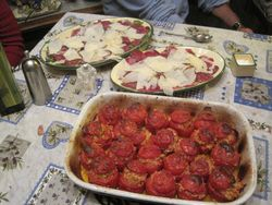 Tomatoes baked