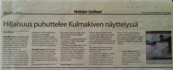 Newspaper Nokia 9.3.2007