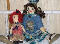 Bluebelle and her dolly