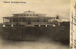 Vikens strandpaviljong 1909