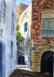 Sunlight and shade, Eivissa