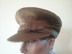 Officers Gor-Blimey cap  £90