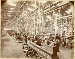 Inside the Wheeler and Wilson Factory