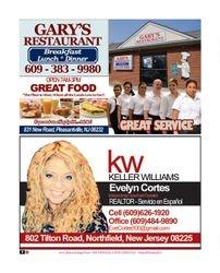 Garys Restaurant / KW Keller Williams / Evelyn Cortes