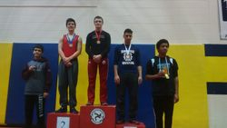 Taha Charour - 3rd place at Cadet Provincials 2016