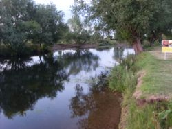 The peaceful river Avon
