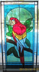 Red Parrot Panel