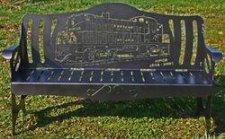Custom Monon Train Bench