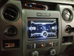 2011 F-150 XL Sony AM/FM CD receiver