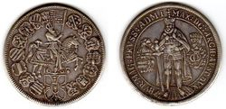 1603 Teutonic Order of Knights Thaler