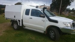 Canopy to suit Toyota Hilux