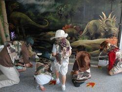 Mini Dinosaur Races