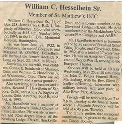 Hesselbein, William C. Sr. 1994
