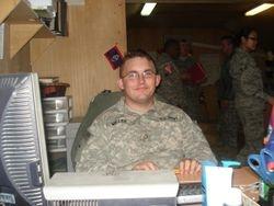 Ryan Miller in Iraq
