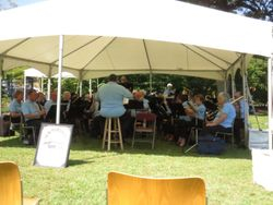 CONCERT BAND - Under the tent at the Park