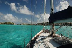 Anchored in South Caicos